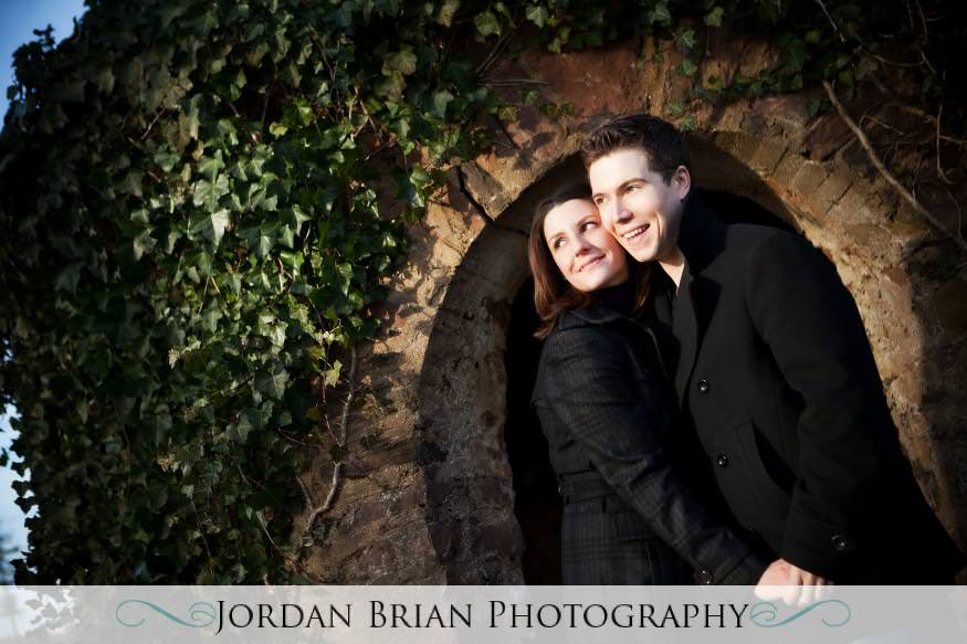 wedding monmouth university engagement love shack Jordan Brian Photography
