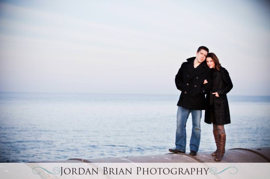 wedding monmouth university engagement beach Jordan Brian Photography