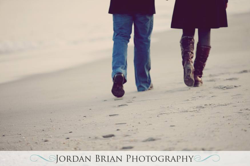wedding monmouth university engagement beach 2 Jordan Brian Photography