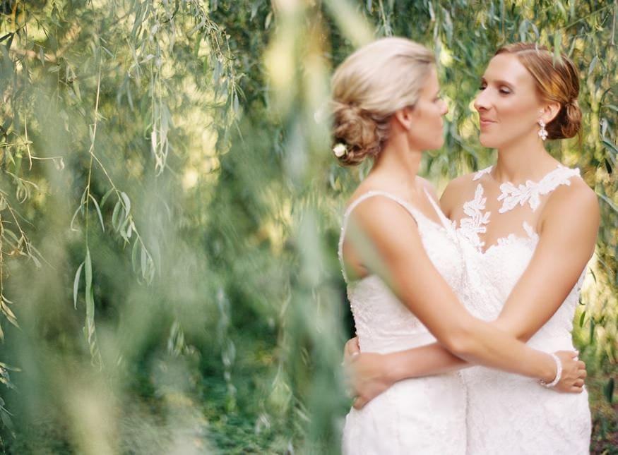 Holly Hedge same sex summer wedding.