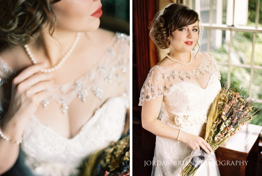 Bride portraits at Laurel Creek Country Club