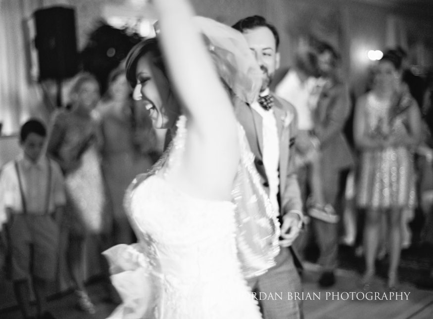 First dance of Bride & Groom at Laurel Creek Country Club