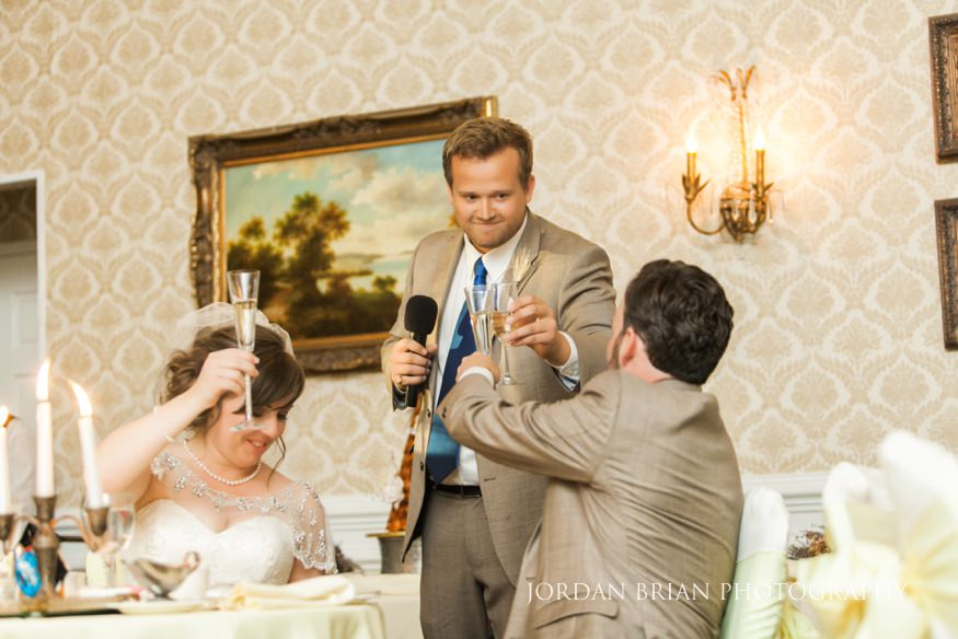Best man speech at Laurel Creek Country Club wedding