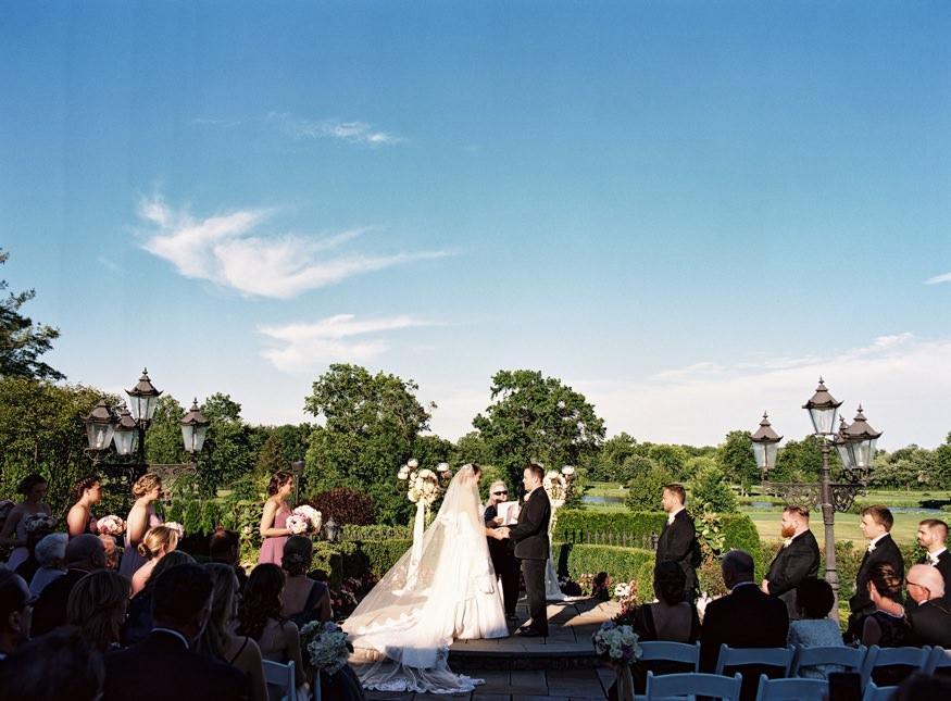 park savoy estate wedding reception vows