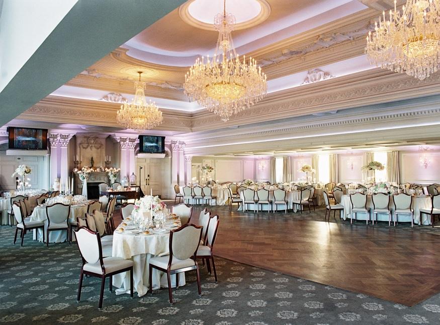 park savoy estate wedding reception room