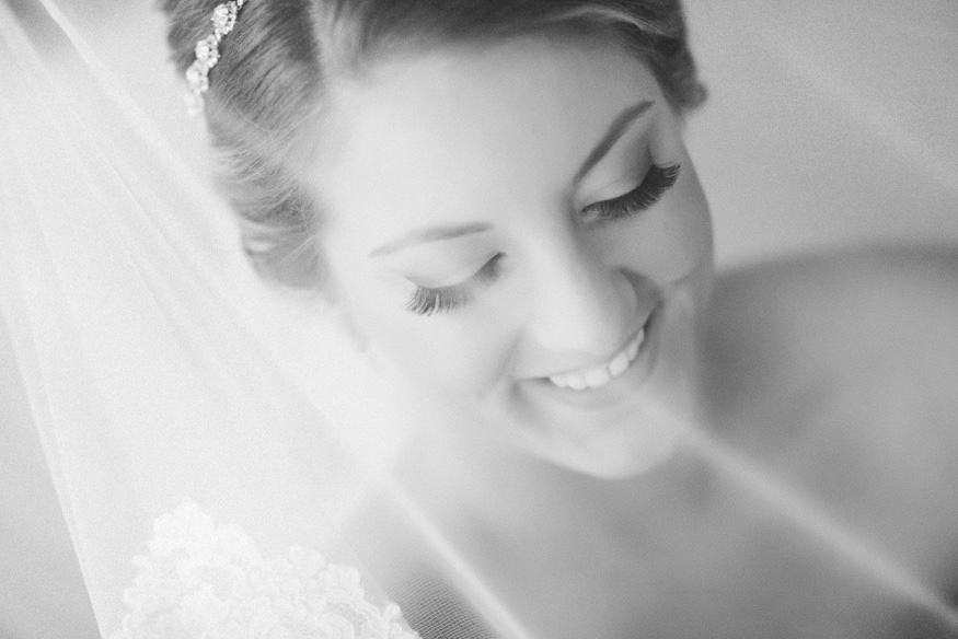 Bride getting ready at the Westin Governor Morris hotel before wedding at Park Savoy.