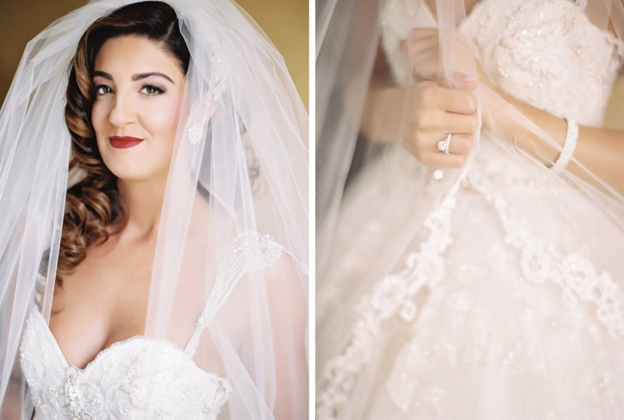 Bride's portraits in film.