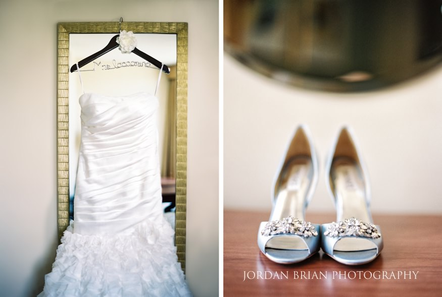 Bride's dress from Sposabella Bridal