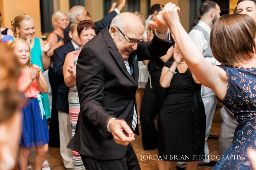 VUE on 50 wedding reception.