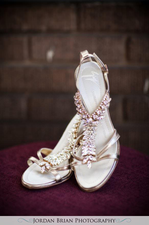 New Jersey wedding photography. Jordan Brian Photography Wedding of Dena & Pete – Forsgate Country Club – Monroe Township, NJ shoes