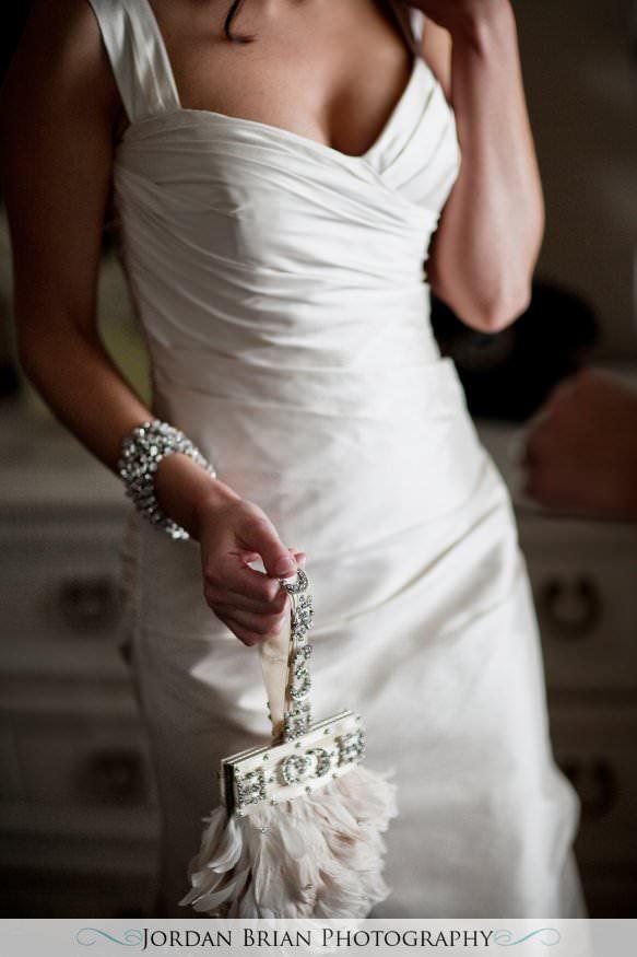New Jersey wedding photography. Jordan Brian Photography Wedding of Dena & Pete – Forsgate Country Club – Monroe Township, NJ kleinfeld dress and purse