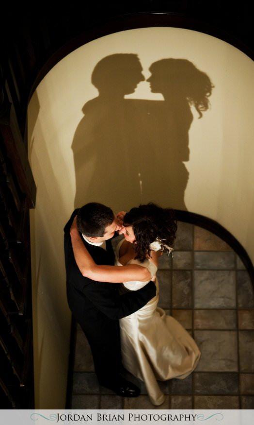 New Jersey wedding photography. Jordan Brian Photography Wedding of Dena & Pete – Forsgate Country Club – Monroe Township, NJ reflection