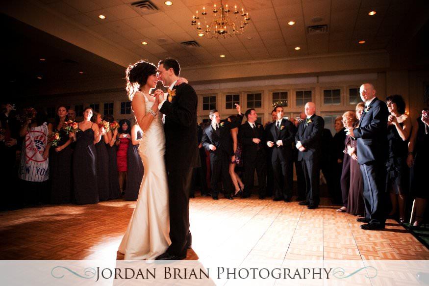 New Jersey wedding photography. Jordan Brian Photography Wedding of Dena & Pete – Forsgate Country Club – Monroe Township, NJ first dance