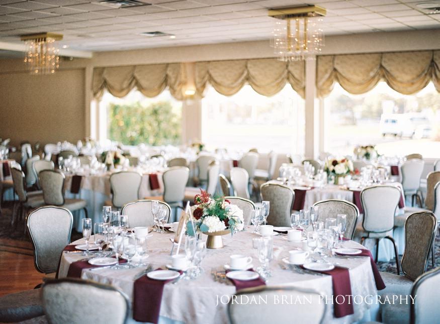 Crystal Point Yacht Club Wedding Reception