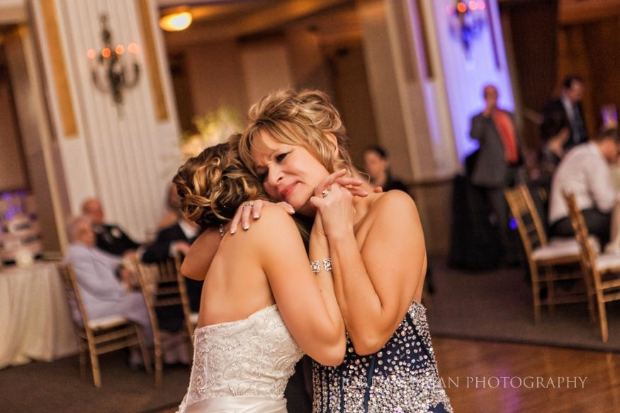 Mother and daughter dance at Ballroom at the Ben