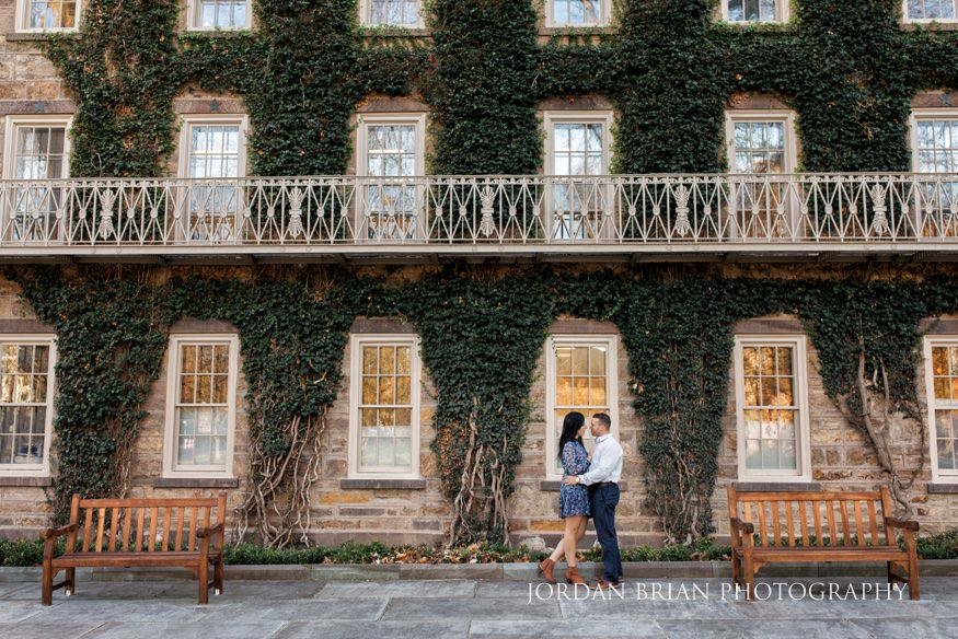 fall princeton university engagement jaclyn amp michael