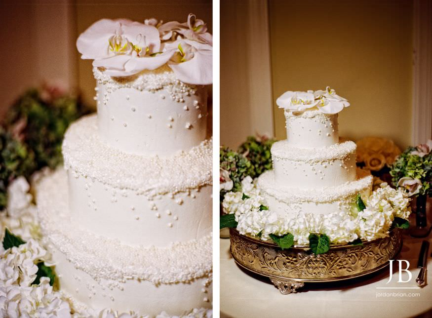 Spring Lake Bath and Tennis Club wedding cake