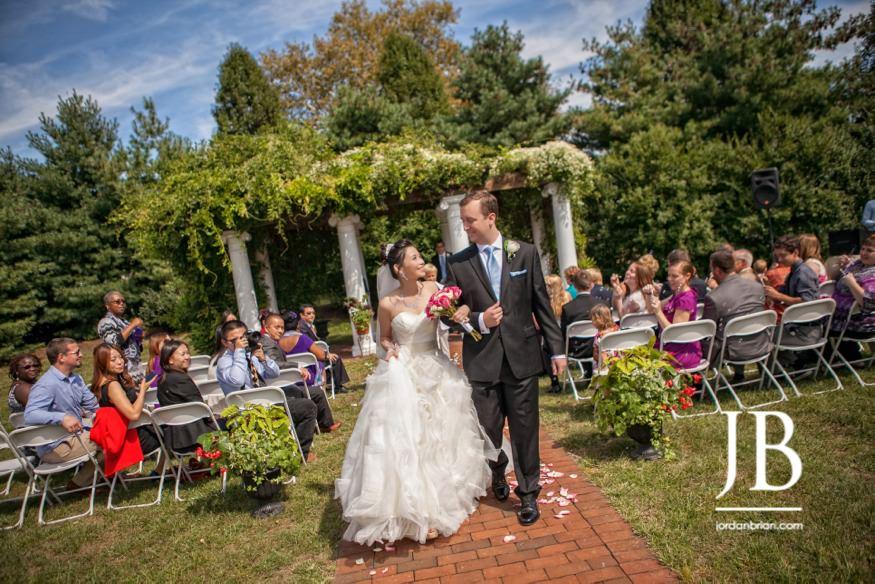 Belle Voir Manor Wedding ceremony