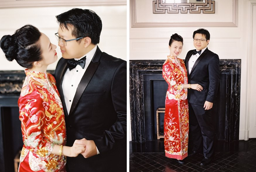Chinese Philadelphia Wedding at Hotel Palomar.