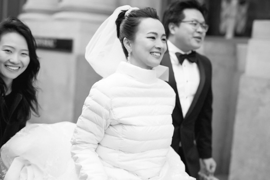 City Hall portraits at Chinese Philadelphia Wedding.