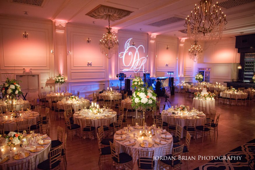 Cescaphe Ballroom Wedding photos, Cescaphe Ballroom Wedding reception setup