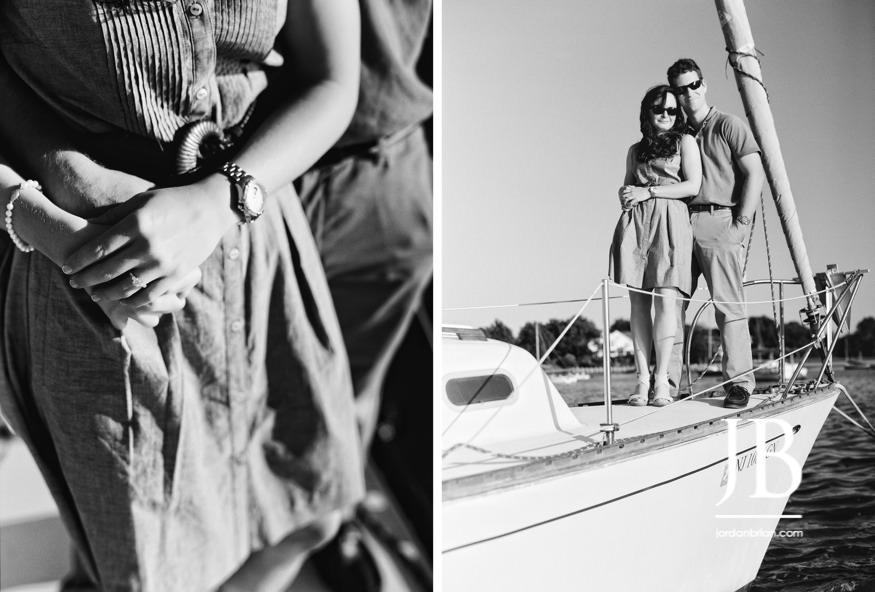 jordan brian photography, wedding photography, portrait photography, philadelphia wedding photography, new jersey wedding photography , south jersey wedding photography, maryland wedding photography, delaware wedding photography, fair haven yacht works, red bank, sailboat engagement