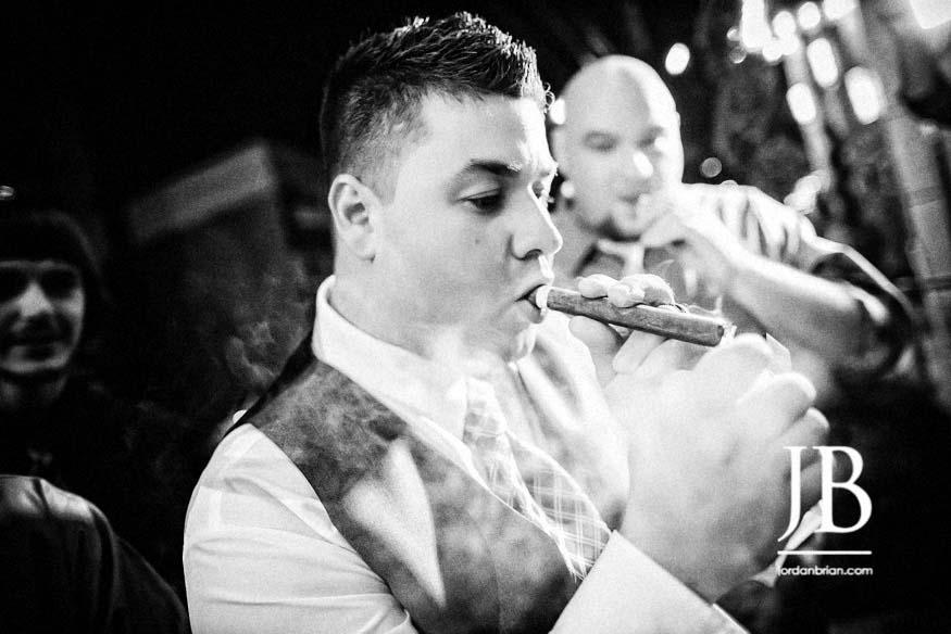 tendenza cigars, philadelphia wedding, jordan brian photography