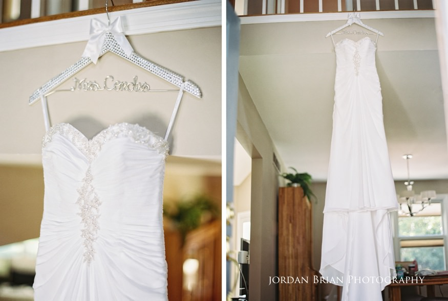 bride's wedding dress from bridal garden