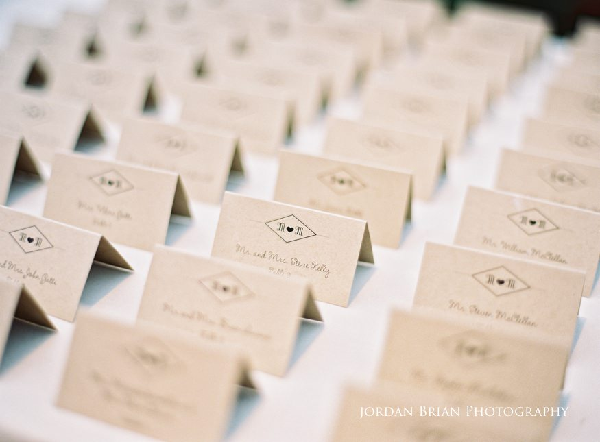 Table card photo ideas at Fairmount Park Horticulture Center wedding.