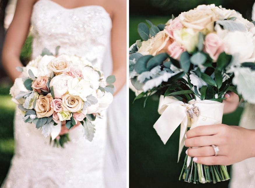Bride's bouquet from Jennifer Designs.