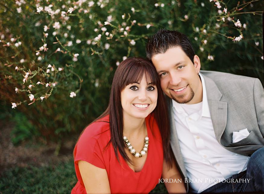couple at chesapeake city engagement