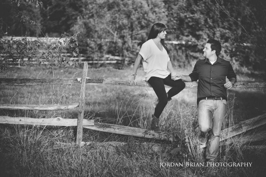 couple at abandoned barn for chesapeake city engagement photos
