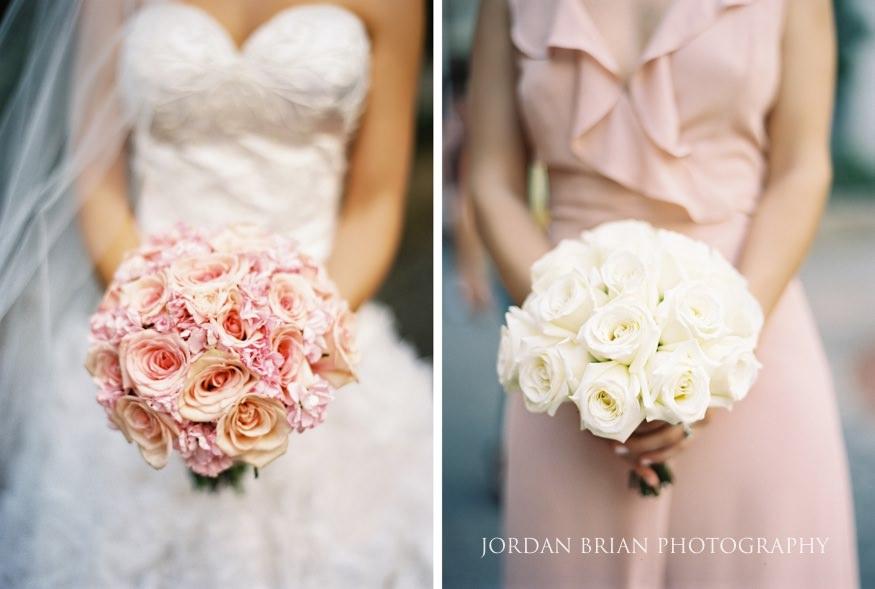 Bridal bouquets by Carl Alan Florist.
