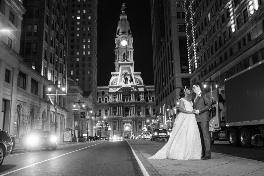 Ritz Carlton Philadelphia wedding reception.