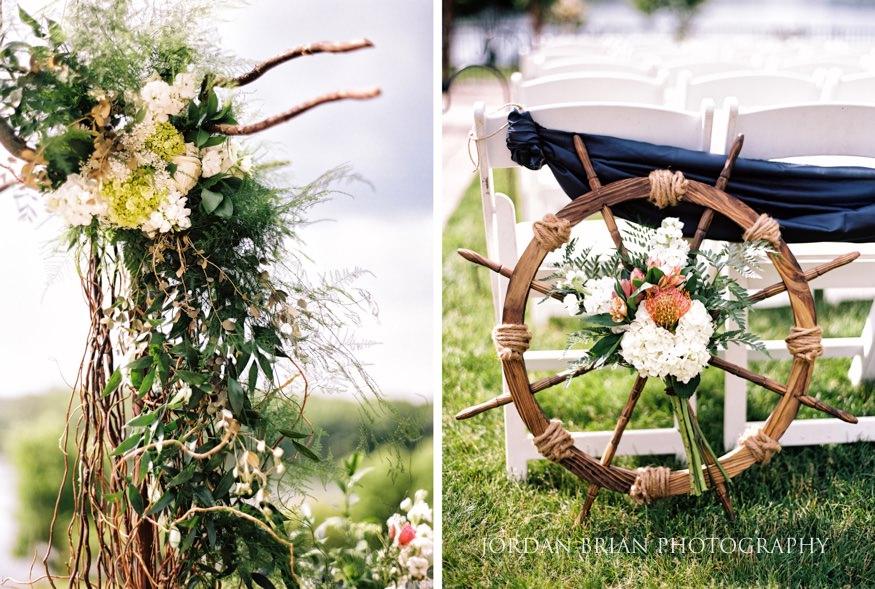 lake house inn wedding ceremony details