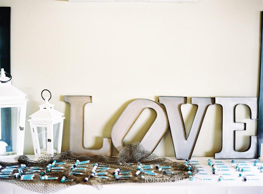 wedding details at lake house inn