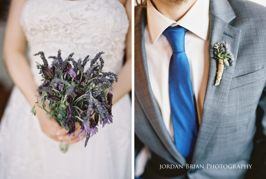 Bride and groom details at Grounds for Sculpture wedding
