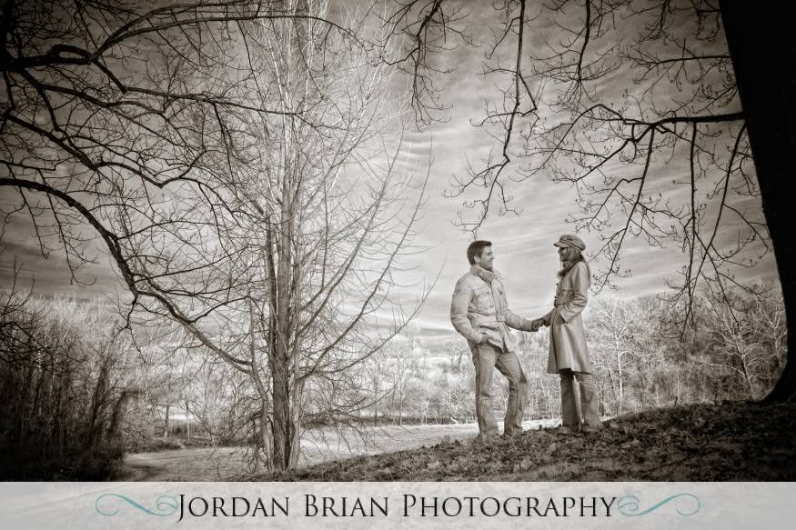 Jordan Brian Photography – Philadelphia Wedding Photography – Proposal – Valley Forge - shoot infrared
