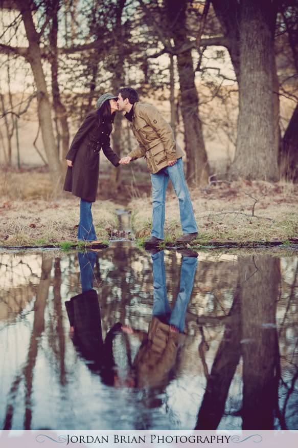 Jordan Brian Photography – Philadelphia Wedding Photography – Proposal – Valley Forge - shoot reflection