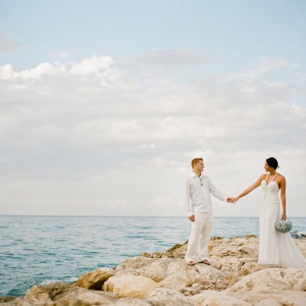Jamaica Destination Wedding of Laurie & Jason - Grand Palladium in St. Lucia