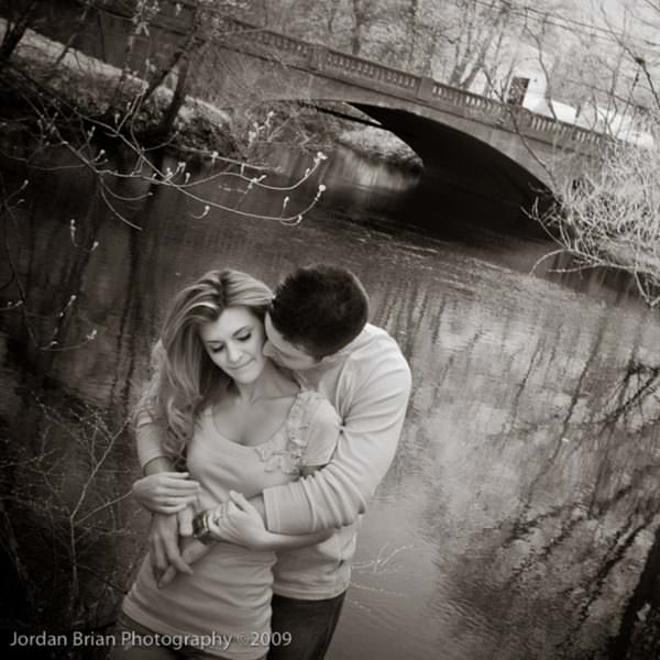 Spring Engagement Session in Medford - Nicole & Nick