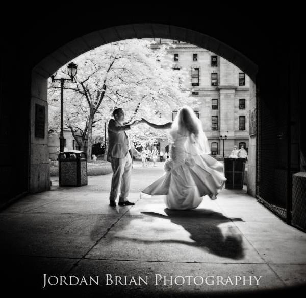 Crystal Tea Room Wedding in Philadelphia of Laura & Jarett
