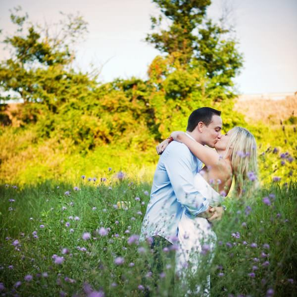 Summer Engagement Session in Moorestown NJ - Lyndsey & Keith