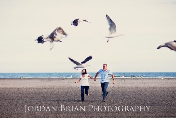 Wildwood NJ Engagement Session - Christen & James