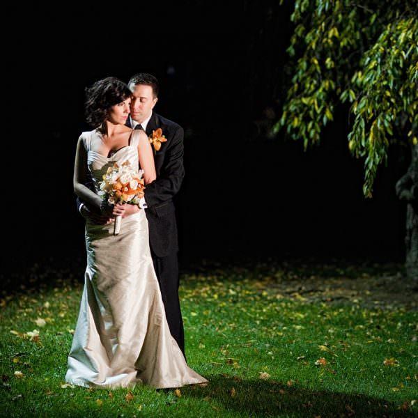 Fall Forsgate Country Club Wedding - Dena & Pete
