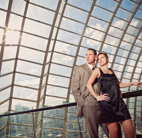 The Kimmel Center Philadelphia Engagement Session - Lauren & James