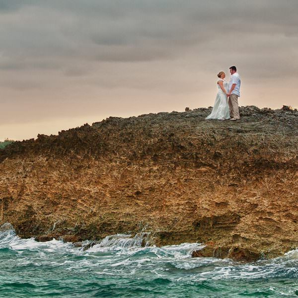 Katie & Luke's Bahamas Destination Wedding in Hopetown