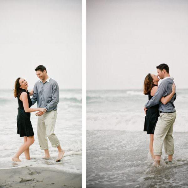 Atlantic City Engagement Photos - Jen & Neil
