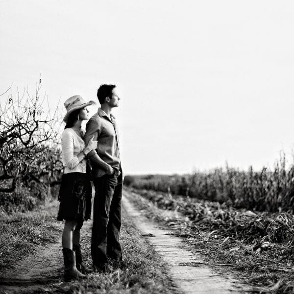 South Jersey Farm Engagement - Kim & Josh