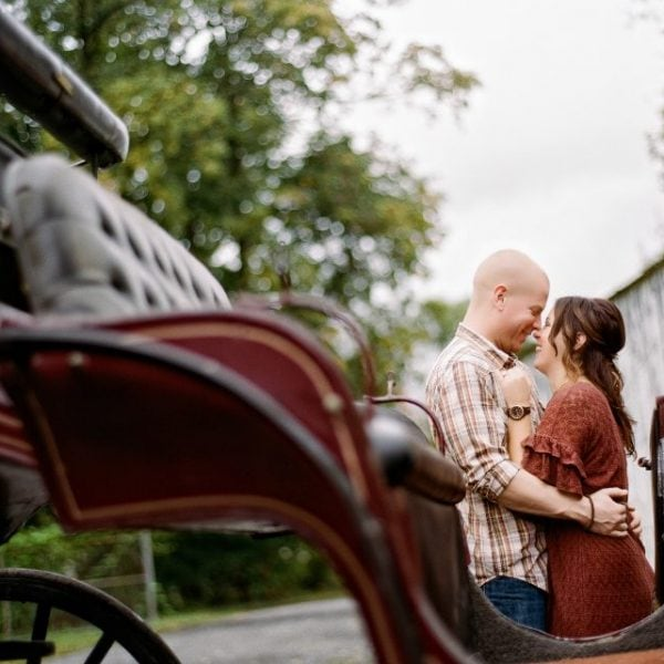 Lambertville Engagement Session - Jamie & Tim
